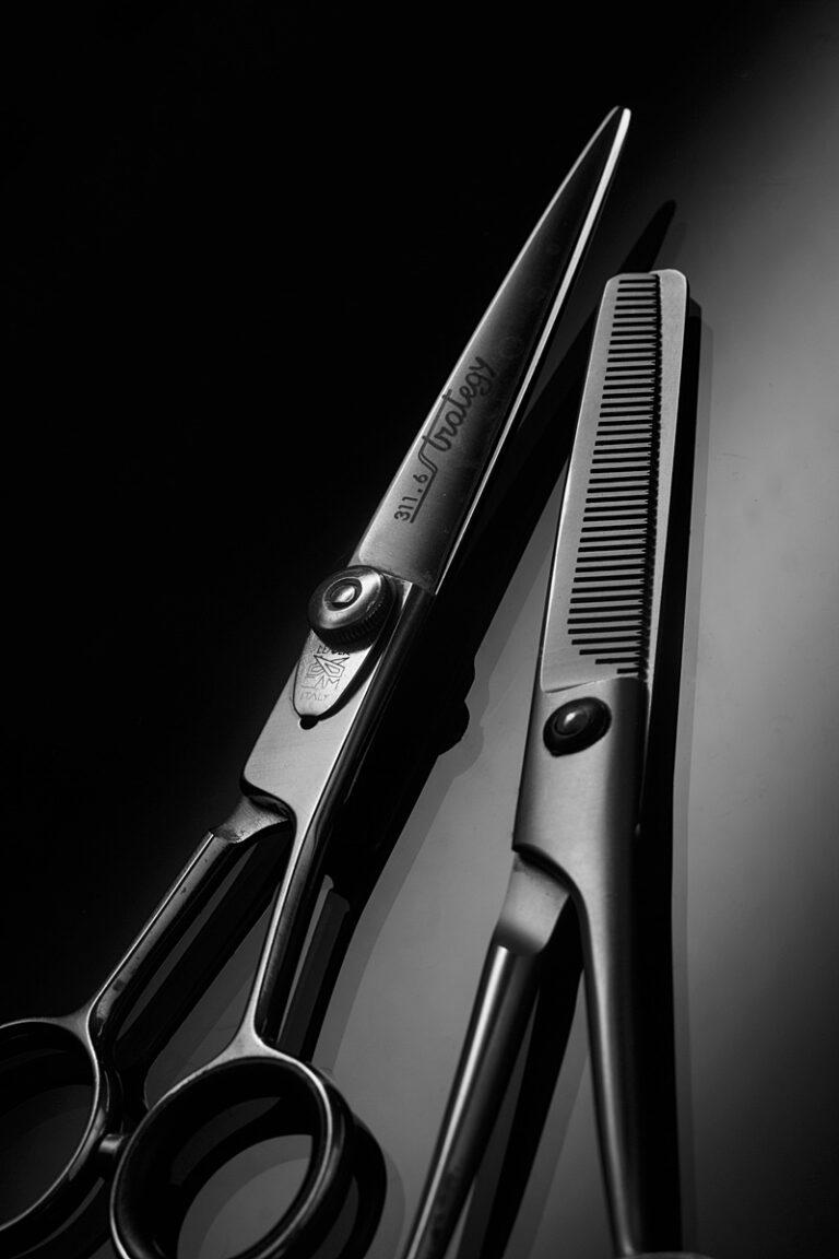 фотограф Олег Тарасенко ADV ножницы парикмахера натюрморт