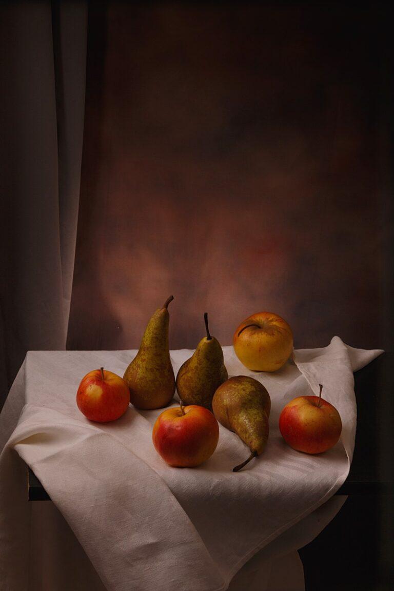 фотограф Олег Тарасенко натюрморт яблоки и груши