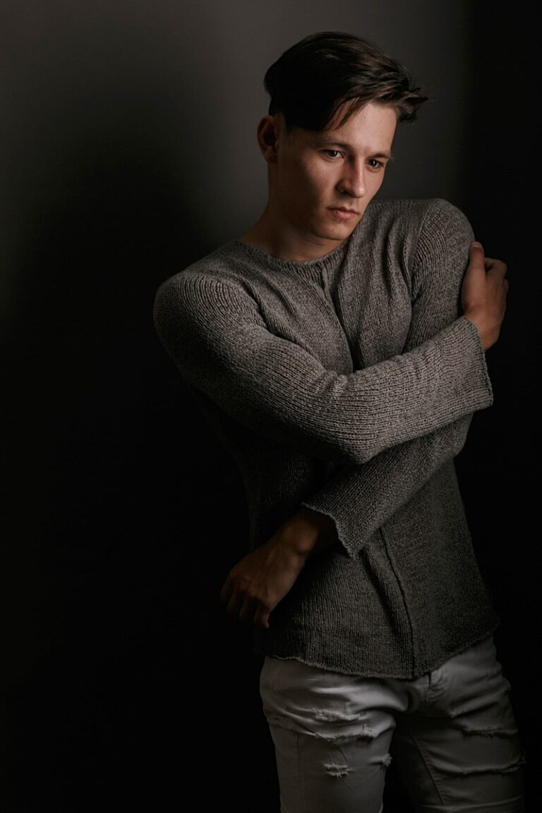 фотограф Олег Тарасенко мужской портрет