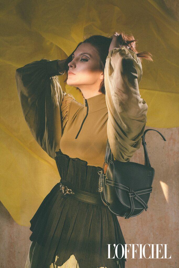 Elly фотограф Олег Тарасенко l'officiel magazine